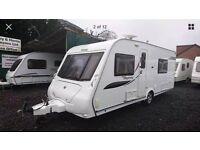2009 Elddis Odyssey 540 4 berth fixed bed caravan with end washroom