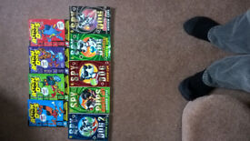 ACTION DOGS/SPY DOGS BOOKS.