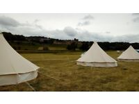 5m Bell tent ideal for Glamping/camping -Excellent condtion