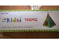 Kids teepee (outdoor play)