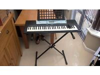 Yamaha Keyboard with adjustable stand £10 no offers