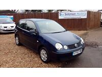 LOW MILEAGE VW POLO & NEW MOT AND JUST SERVICED