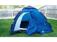 Rapid pop up tent 4 man