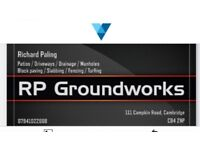 Block paving/ slabbing/ drainage and more, all aspects of groundwork covered, free quotes