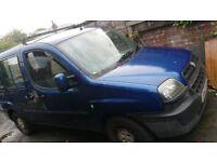 Fiat Doblo JTD, good runner, MOT failure, car / van / MPV