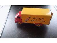 DINKY HEINZ 57 BOTTLE plus Corgi car in box