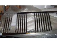 Brand new 1450mm x 450mm Chrome Towel Radiators x 2