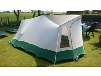 "Lichfield Paladin Classic XL4 Vintage ""A Frame"" Tent (canvas)"