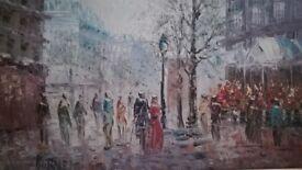 Painting of Burnett