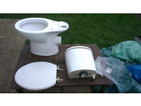 Toliet and cistern - complete unit