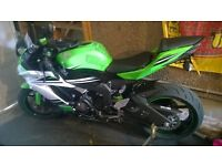 Kawasaki zx6r 30th anniversary edition 2015 LOW MILES & EXTRAS