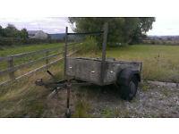 Braked Trailer 180 cm x 120cm (6ft x 4ft)