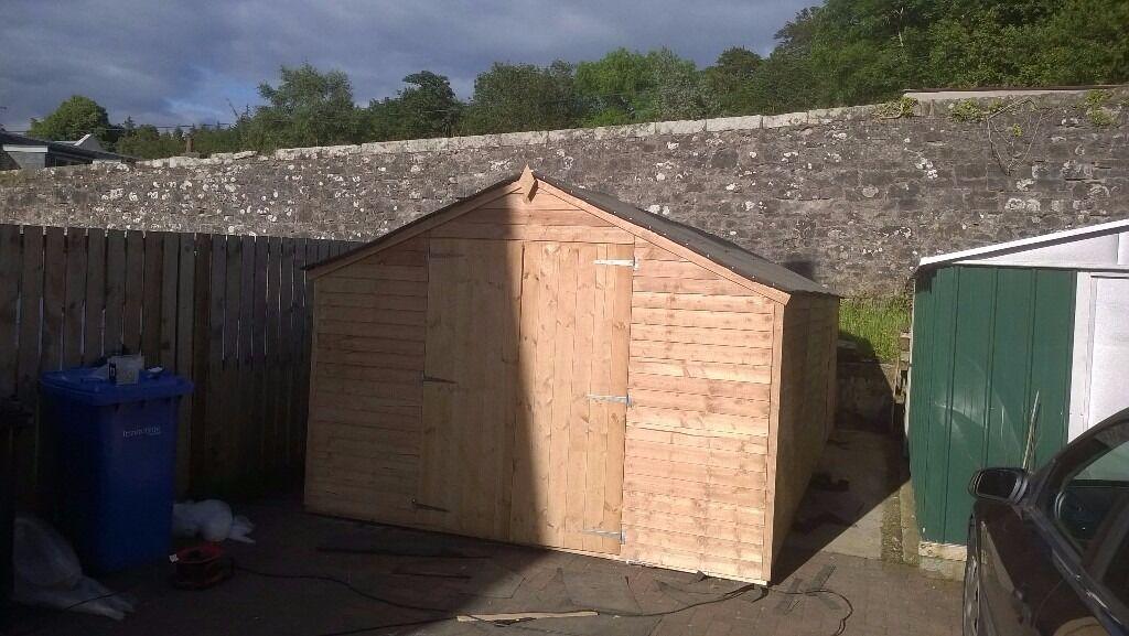 now sold huge garden shed for sale