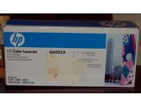 HP Color Laserjet Yellow Print Cartridge Q6002A