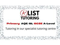 AList Tutoring centre (Math & science and many more subjects up to A-level )