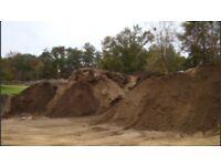 Free top soil earth 100 tons garden flower beds