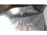 Peugeot 206 boot trim silver