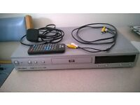 DVD PLAYER AND REMOTE FOR SALE