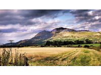 High quality unframed A4 prints of the 'Carse of Stirling'.