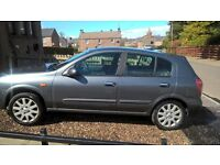 NISSAN ALMERA 1.5 SVE 54 PLATE. *** SELL OR SWAP FOR ESTATE CAR***