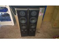 Yamaha 5.1 DTS Amplifier 550 Watts + Eltax Symphony 8.1 Floor Standing Speakers DELIVERED TO YOU!!!