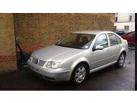Volkswagon Bora, 1.9, Diesel, (2000) 100,000 mileage, Air Con, Manual Fuel Efficient, CD Plyr