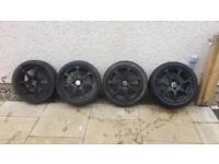 Vauxhall alloys 4 stud