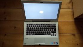 Sony Vaio VPCSB Ultrabook laptop Intel 2.2ghz Core 2ND gen CPU ATI Graphics with backlit keyboard