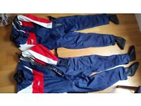 Musto sailing dry suits (two)
