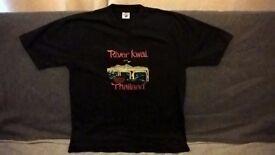 Thailand souvenir T-Shirt 'River Kwai'.