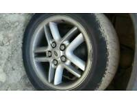 Land Rover discovery td5 tyres and wheels looking for 150 but you can also offer a price