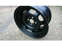 Banded steel wheels. Vw golf. Lupo. Polo