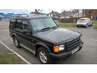 LAND ROVER DISCOVERY TD5 CHARCOAL BLACK AUTO MOT'D ONLY £1095