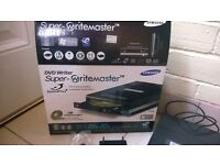 Samsung Super Writemaster DVD Writer, used once in box,