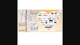 £50 love to shop vouchers for £40