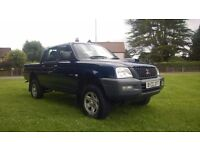 **12 MONTHS MOT** 2002 MITSUBISHI L200 2.5 TD GL 4WD **1 OWNER** **STRONG WORKHORSE**