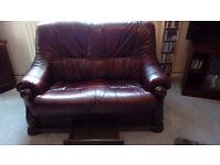 2 X 2 Seat leather Sofas