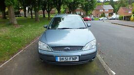 Ford Mondeo LX Estate 51 plate 2.0L petrol