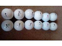 Nike golf balls grade A dozen