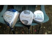 Golf Clubs - Drivers / No 1 Woods (metal)