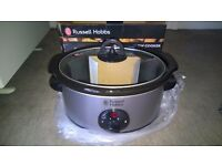 Russell Hobbs 19790 3.5Ltr Stainless Steel Slow Cooker - Brand NEW