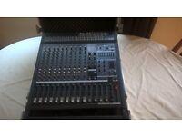 Yamaha EMX5000 Powered 1000 Watt (2 x 500 Watt) Mixer with flightcase Good Used Condition