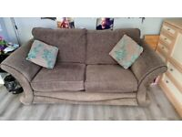 2 Seater Sofa/bed + 3 Seater Sofa + footstool/storage