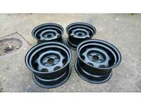 Banded steel wheels. Lupo. Polo golf