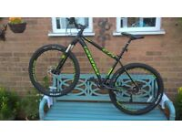 VALUE, RRP 1099 POUNDS, CANNONDALE 27.5 TRAIL 1, MINT CONDITION HARDLY USED.