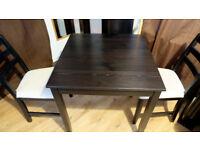 Table set& chairs set- Dark Brown