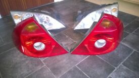 Ford mondeo headlights and rear lights