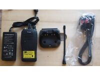 iCom iC-F2000 Two Way Radio; New Handset; Used nearly new Battery