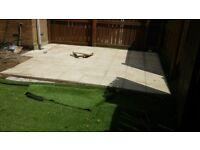 Garden design decking patio flagging service free estimate artificial lawn same day 07425069133