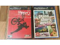 PS2 games Dave Mirra freestyle BMX GTA vice city stories
